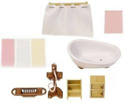 Calico Critters Deluxe Bathroom components 15pc set