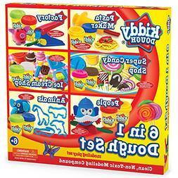 KIDDY DOUGH Deluxe Mega Dough Set Includes 12 2oz Dough Cans