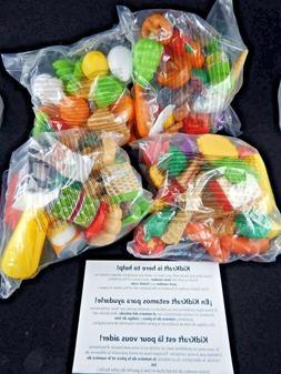 Kidkraft Deluxe Tasty Treats Pretend Food Set  115 pieces