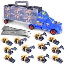 Die-cast Construction Truck Vehicle Car Toys Set Play Vehicl