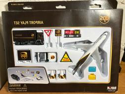Die-Cast Metal Airplane UPS Airlines Airport Play Set by Dar