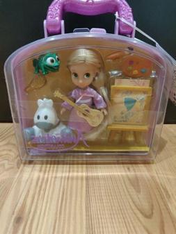 "DISNEY ANIMATORS' COLLECTION MINI DOLL 5"" Rapunzel PLAY SET"