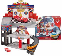 Mattel Disney Cars Story Sets Piston Cup Racing Garage Plays