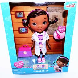 "Disney Doc Mcstuffins Physician Doll 9"" Tool Bag 2015 Toys F"