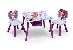 Disney Frozen Kids 3 Piece Table and Chair Set