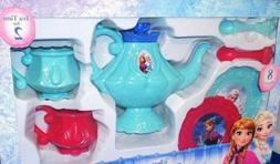 DISNEY FROZEN PRINCESS ELSA PRINCESS ANNA Tea Set ~ NEW