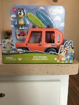 Disney Junior Bluey Heeler 4WD Family Cruiser Jeep Vehicle B