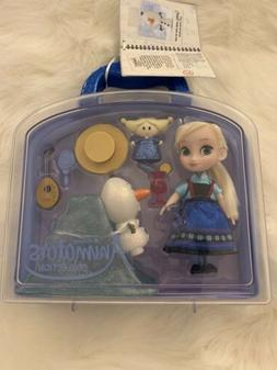 Disney Parks Animators' Frozen Princess Elsa & Olaf Doll Min