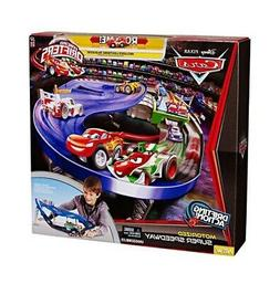 DISNEY PIXAR CARS MICRO DRIFTERS MOTORIZED SUPER SPEEDWAY PL