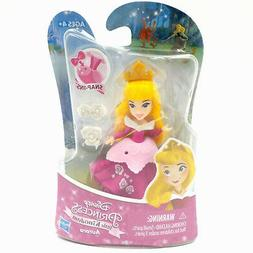 "DISNEY PRINCESS LITTLE KINGDOM 3"" MINI DOLL SNAP-INS~AURORA~"
