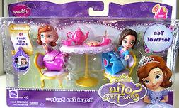 "Disney Sofia & Jade dolls ""Tea for Two"" Royal Tea Party Play"