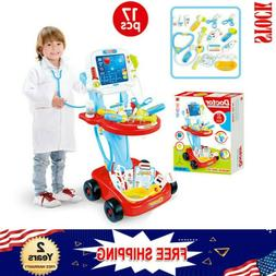 Doctor Pretend Play Set With Electric Simulation ECG Medical