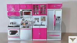 SY Doll Playsets My Modern Kitchen Full Deluxe Kit with Ligh