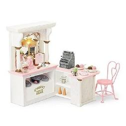 American Girl Doll SAMANTHA'S ICE CREAM PARLOR parlour SET i