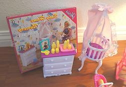 dollhouse furniture size baby home nursery w