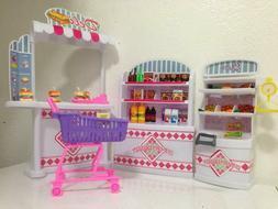 Gloria Dollhouse Furniture - Supermarket Shopping Cart Veggi