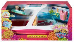 Barbie Dolphin Magic Ocean View Boat Playset
