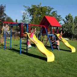 Lifetime Double Slide Deluxe Playset - Do It Yourself, Prima