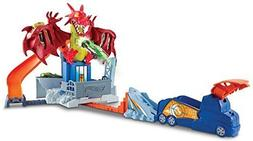 Hot Wheels Dragon Blast Playset