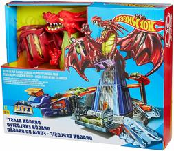 Hot Wheels Dragon Playset Boys Track Set Car Toy Play Bedroo