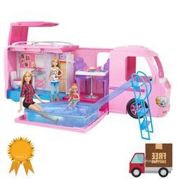 Barbie DreamCamper Adventure Camping Playset w / Accessories