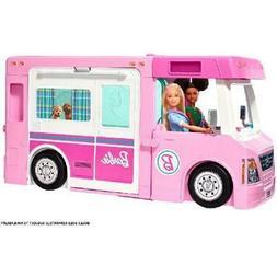 Barbie DreamCamper Rv Adventure Camping Playset Pool Truck B