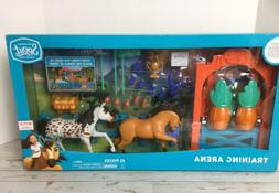✨Dreamworks Spirit Riding Free Training Arena Horses 42 Pc
