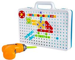 Drill & Play Creative Educational Toy With Real Toy Drill -