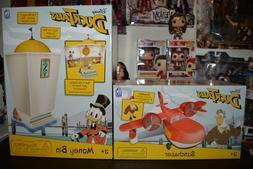 Ducktales Money Bin Playset & Sunchaser Airplane w/Launchpad