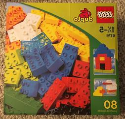 LEGO DUPLO 6176 Basic Blocks Bricks 80 PCS RETIRED  Disconti