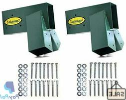 Eastern Jungle Gym Easy 1-2-3 A-Frame 2 Brackets Swing Set w