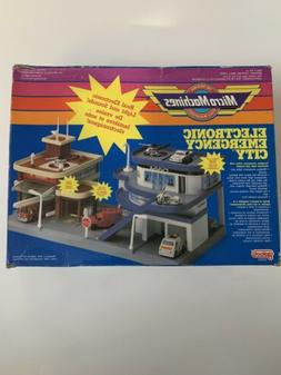 Micro Machines Emergency City Play Set NIB 1990