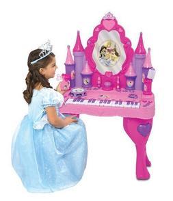Disney Princess Enchanted Musical Piano Keyboard Magical Int