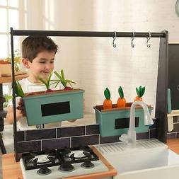 KidKraft Farm to Table Pretend Play Kitchen Playset w/ EZ As