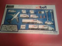 Fedex Transportation Fleet Set Daron Die Cast Airport Playse