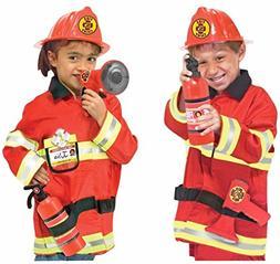 MELISSA AND DOUG FIRE CHIEF COSTUME