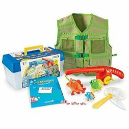 Learning Resources Fishing Set, 11 Pieces, includes tackle b