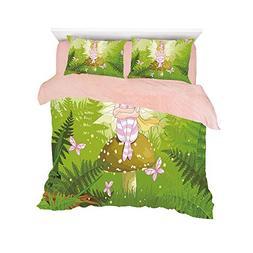 flannel bed duvet cover set