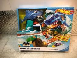 Hot Wheels FNB21 City Shark Beach Battle Play Set