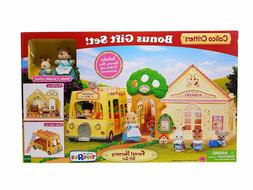 Calico Critters Forest Nursery Gift Set Playset  RARE!
