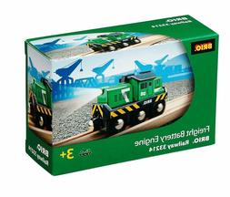 Brio Freight Battery Engine Toy Train