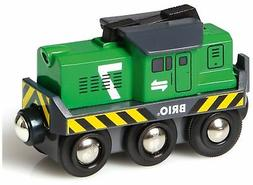Brio FREIGHT BATTERY ENGINE Wooden Toy Train