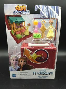 Disney FROZEN 2 Arendelle Village Set Pop-Up Playset and Ann