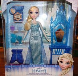 Disney Frozen Elsa and Coronation Vanity Play Set with Doll