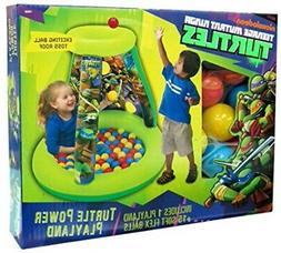 Teenage Mutant Ninja Turtles Inflatable Playhouse BALL PIT P