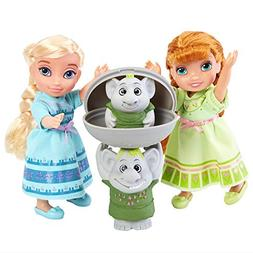 Frozen Petite Elsa Anna Mini Toddler Doll Figure Surprise Tr