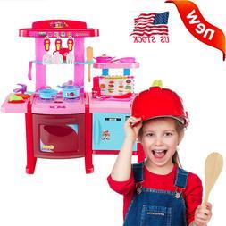 Funny Kitchen Pretend Playset Play Kitchen With Friends Kids
