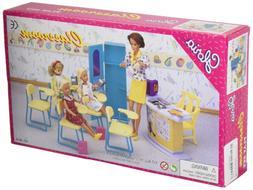 Furniture Barbie Size Dollhouse - Classroom Play Set