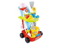 Kids Cleaning Set and Gardening Tools 24pcs Garden and House