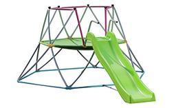 Geometric Dome Climber Slide Hexagon - Multiple Kids Jungle
